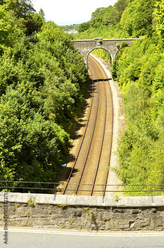 Conny railway tracks Poster Mural XXL