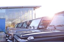 Luxus Geländewagen In Der Sonne