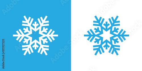Fototapeta snowflake  obraz na płótnie