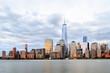 New York City - Lower Manhattan Skyline at Dusk