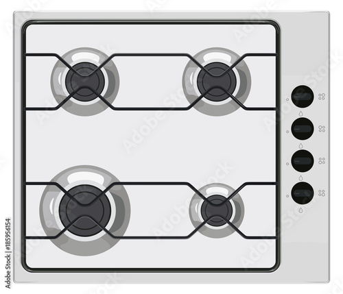 Gray gas stove Slika na platnu