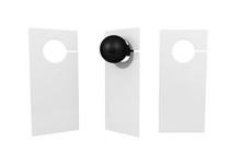 Door Hanger Flyer White Tags F...