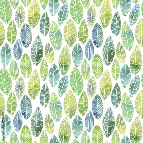 wzor-z-ozdobnymi-zielonymi-liscmi
