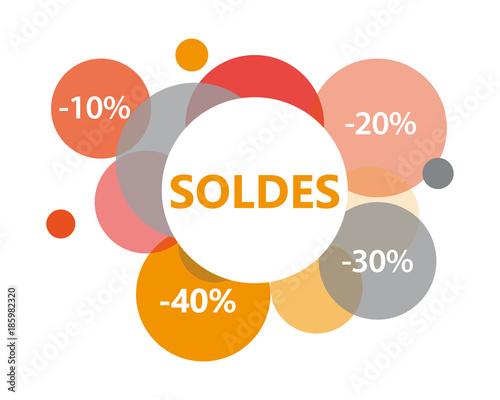 Valokuva  Soldes-orange
