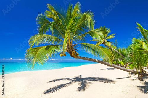 Tropical beach scenery at Andaman Sea, Thailand Fototapeta