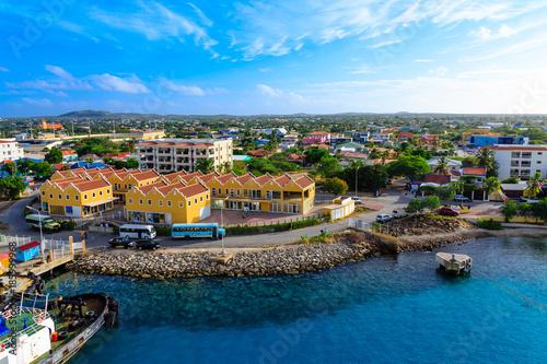 Port of Bonaire Canvas Print