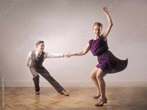 Great dancer dancing together