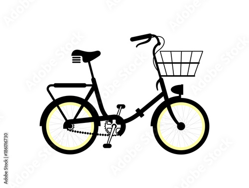Simple bicycle illustration - photo#44