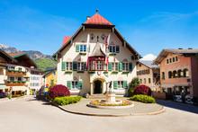 Rathaus In St. Gilgen