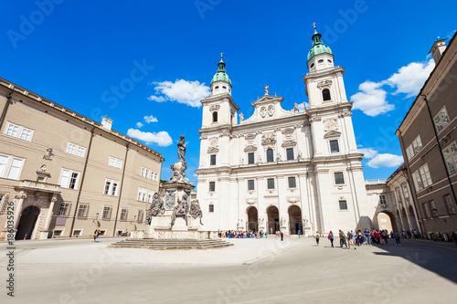 Salzburg Cathedral in Salzburg Tapéta, Fotótapéta
