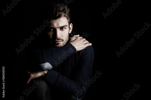 Fotografia  handsome young man