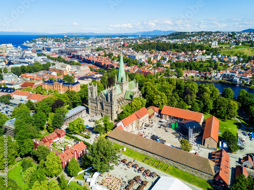 Cadres-photo bureau Scandinavie Nidaros Cathedral in Trondheim