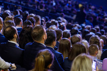 People Attend Business Confere...