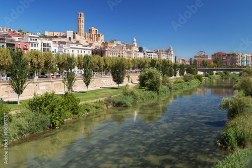 River Segre through Lleida