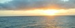 Sonnenaufgang auf dem Meer, Kreuzfahrt