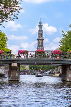 View On The Western Church, Amsterdam, Netherlands
