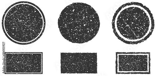 Valokuvatapetti Grunge Stamps Collection