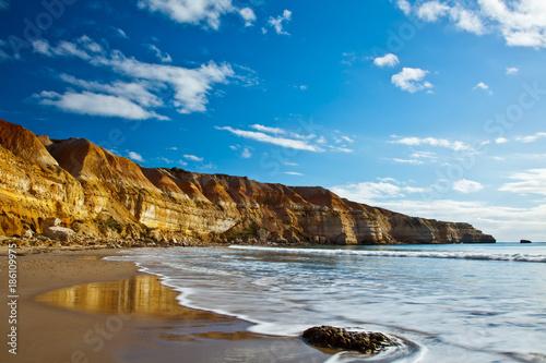 The beautiful Maslins beach on the Fleurieu Peninsula in SA Canvas-taulu
