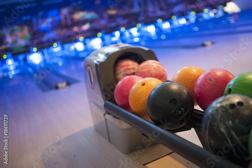 Photo  Balles de bowling
