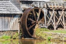 Water Wheel On Mabry Mill In V...