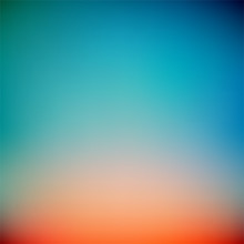 Colorful Sunset Gradient Vecto...