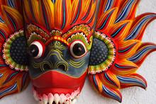 Colorful Srilankan Mask