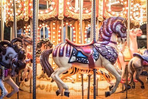Obraz na plátně  Carousel
