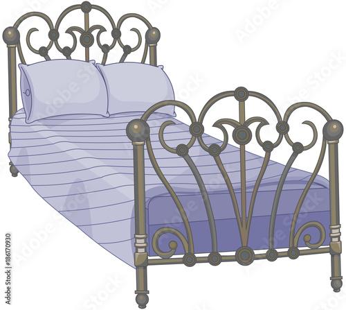 In de dag Sprookjeswereld Tucked Bed