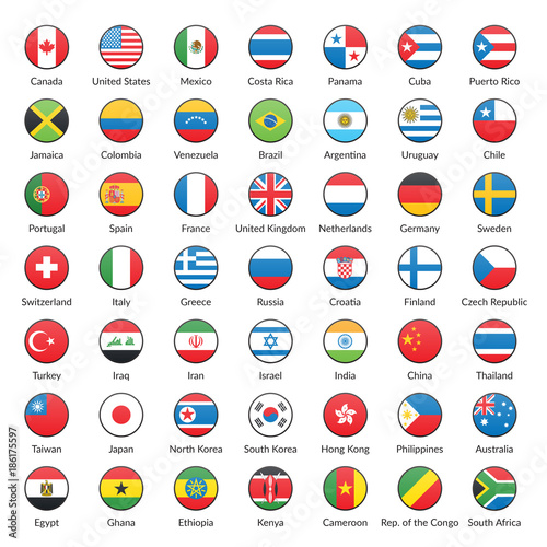 Photo All World Flags