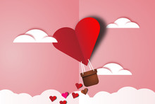 Love And Valentine Day. Heart ...