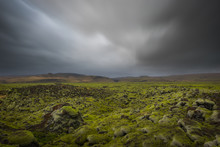 Moving Clouds Over Icelandic L...