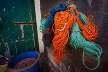 Kolorowe Liny Do łodzi Rybackich