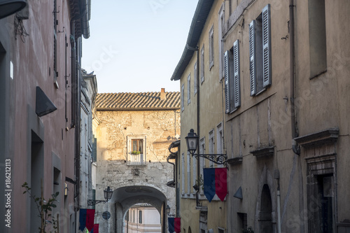 Amelia (Umbria, Italy): historic town Wallpaper Mural