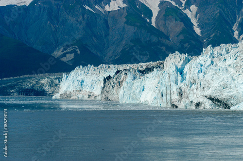 Fotobehang Gletsjers Hubbard Glacier - Alaska