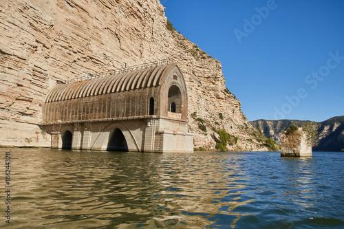 Port Massaluca reservoir in Tarragona, Spain