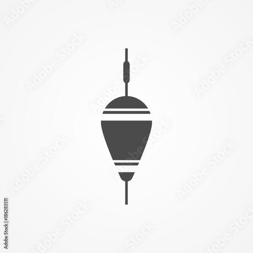 Fotografie, Obraz  Floating bobber icon