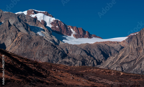 The landscape of Tibetan area in Western China Canvas Print