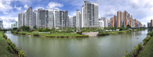 Panoramic View Of Singapore Pu...