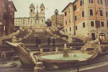 Piazza Di Spagna In Rome With ...