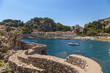 Taormina, Sicily. Scenic view of the Gulf of Mazzaro