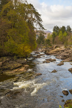 Falls Of Dochart In Killin, Sc...