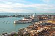 Bright Venice lagoon