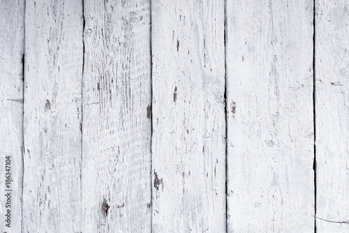 Retro wooden wall whitewash lime, modern style, weathered cracky messy wooden ba Canvas-taulu