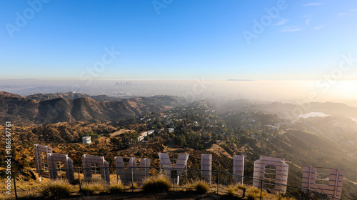 Hollywood sign Wallpaper Mural