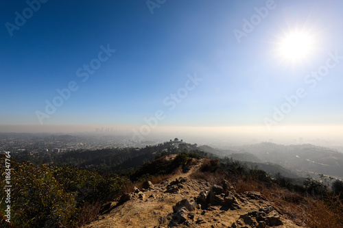 Griffith park Canvas Print