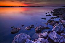 Long Branch Lake Sunset