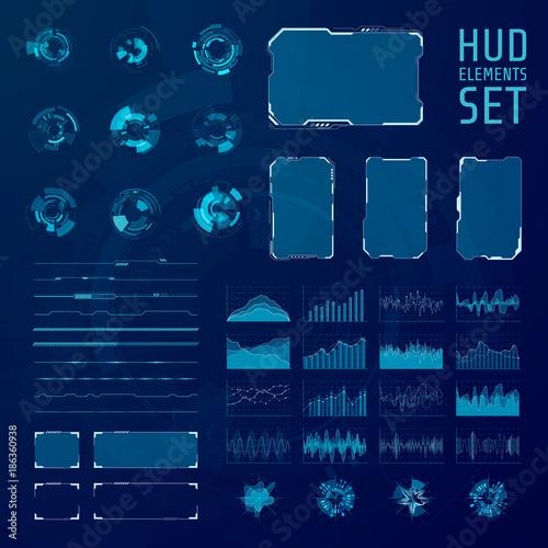 Fotografía  HUD elements collection