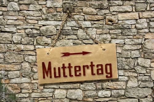 Fototapeta Schild 235 - Muttertag obraz na płótnie