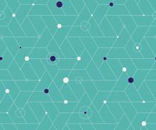 Geometric Cubic Grid Seamless ...