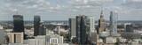 Panorama of Warsaw financial center - 186404716